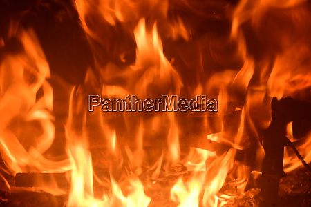 fire, in, the, fireplace, , log, fire, - 28216458