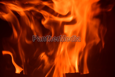 fire, in, the, fireplace, , log, fire, - 28216629
