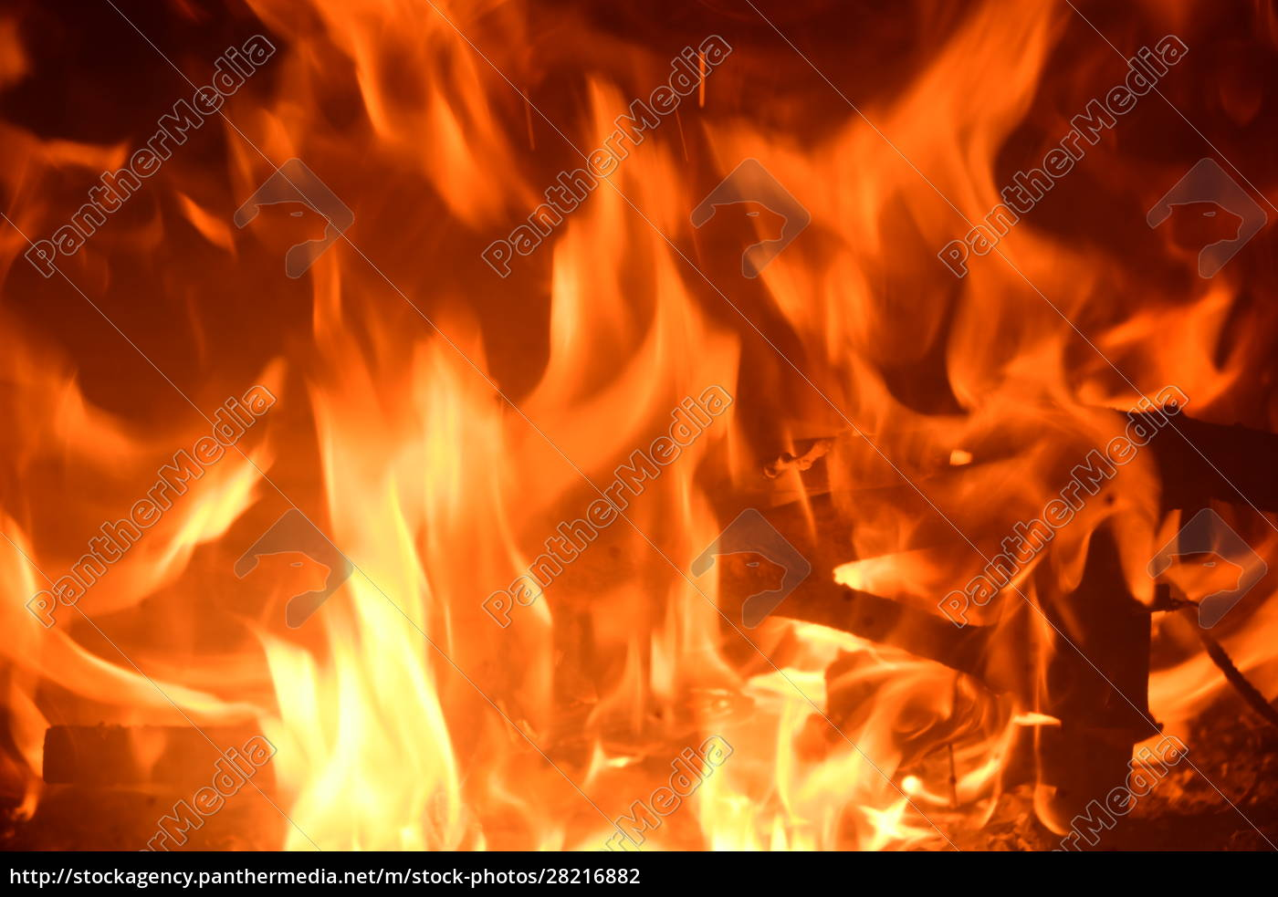 fire, in, the, fireplace, , log, fire, - 28216882