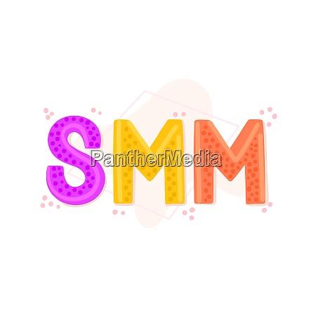 smm., social, media, marketing., word, of - 28216589