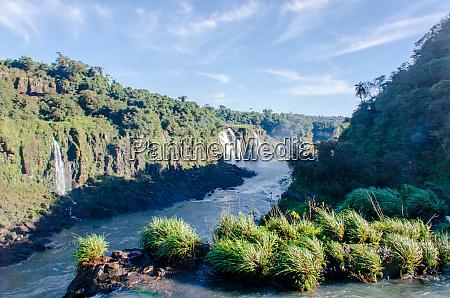 the, iguazu, river, bordering, brazil, and - 28216576