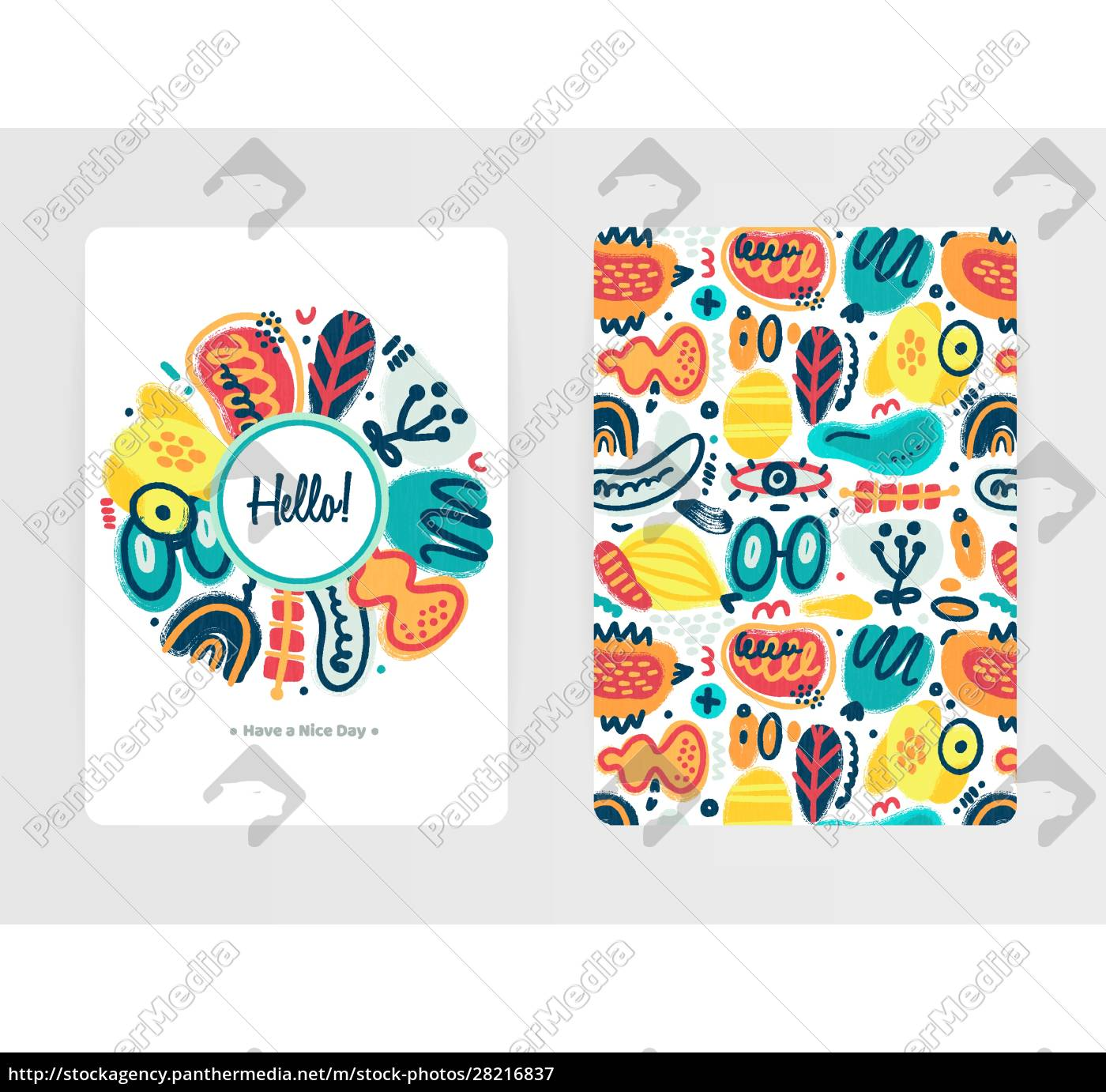 vector, abstract, creative, backgrounds, with, hand - 28216837