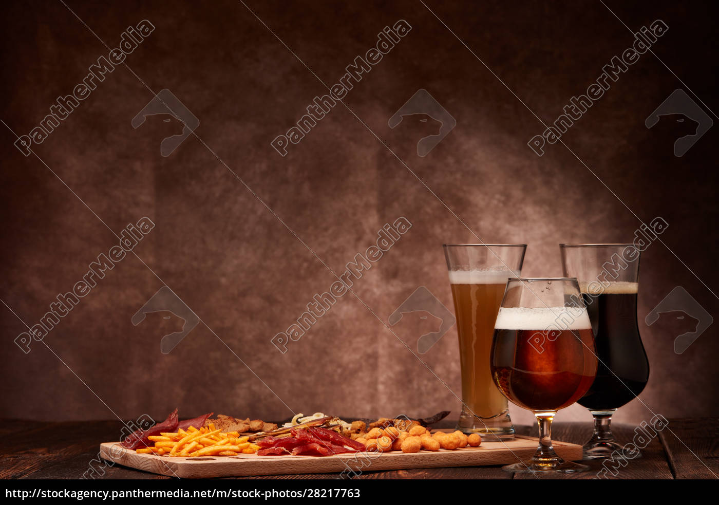beer, and, snacks - 28217763
