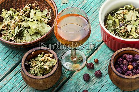 dried, hawthorn, in, herbal, medicine. - 28217738