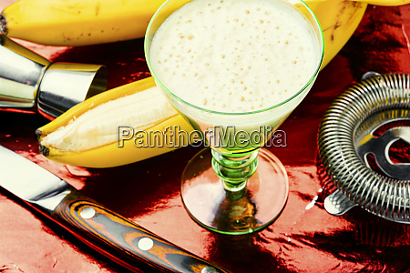 appetizing banana liquor