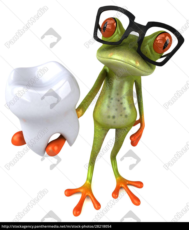 fun, frog, -, 3d, illustration - 28218054