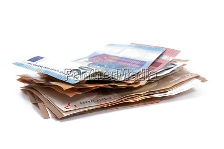 euro money bills