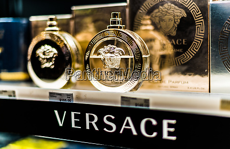 bottles, of, perfume, by, versace, on - 28222205
