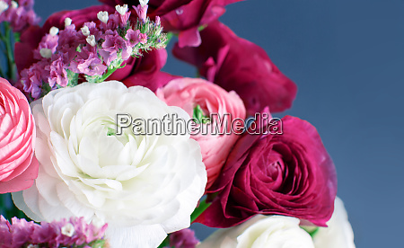 pink white and fuchsia flowers on