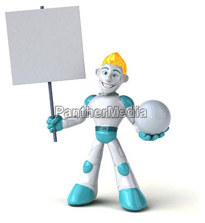 robot, -, 3d, illustration - 28223161