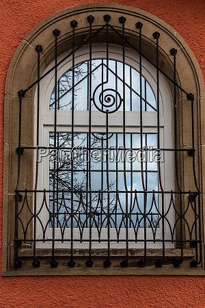 window of a historical building with