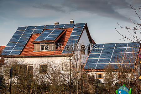 house with a lot of solar