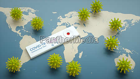 coronavirus pandemic covid 19 rapid test