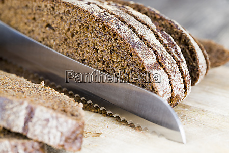 soft loaf of fragrant rye bread