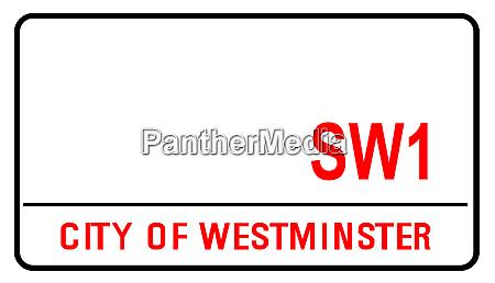 city of westminster london blank street
