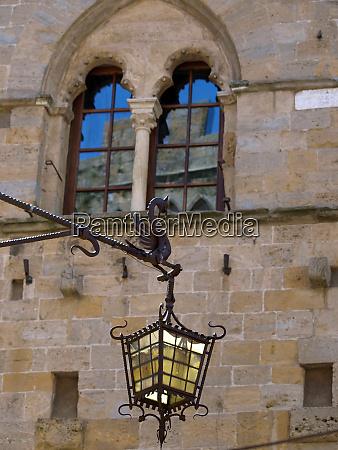 ancient beautiful windows tuscany italy