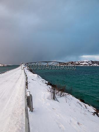 bridge to sommaroy troms og finnmark
