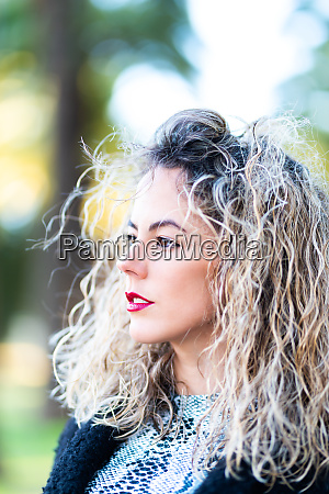headshot of caucasican beautiful woman