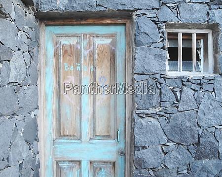 blue door fisher village canary island