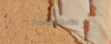 wide brown burlap background