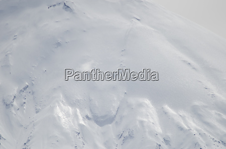 slope of parinacota volcano in lauca