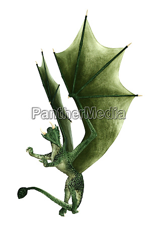 3d, rendering, fairy, tale, dragon, on - 28257786