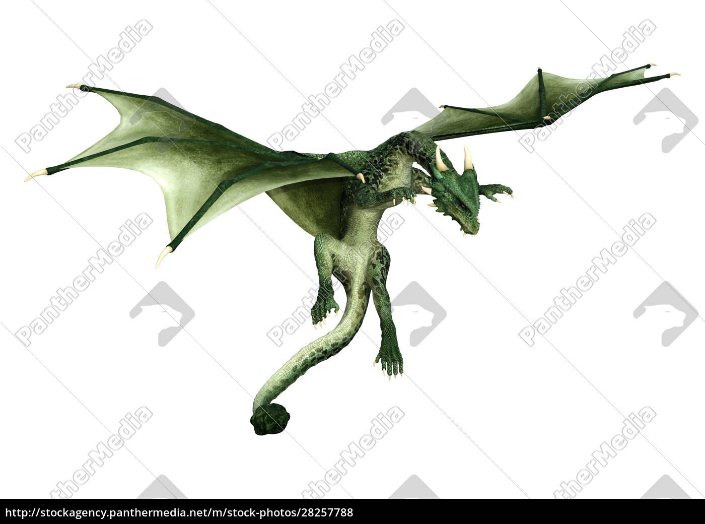 3d, rendering, fairy, tale, dragon, on - 28257788