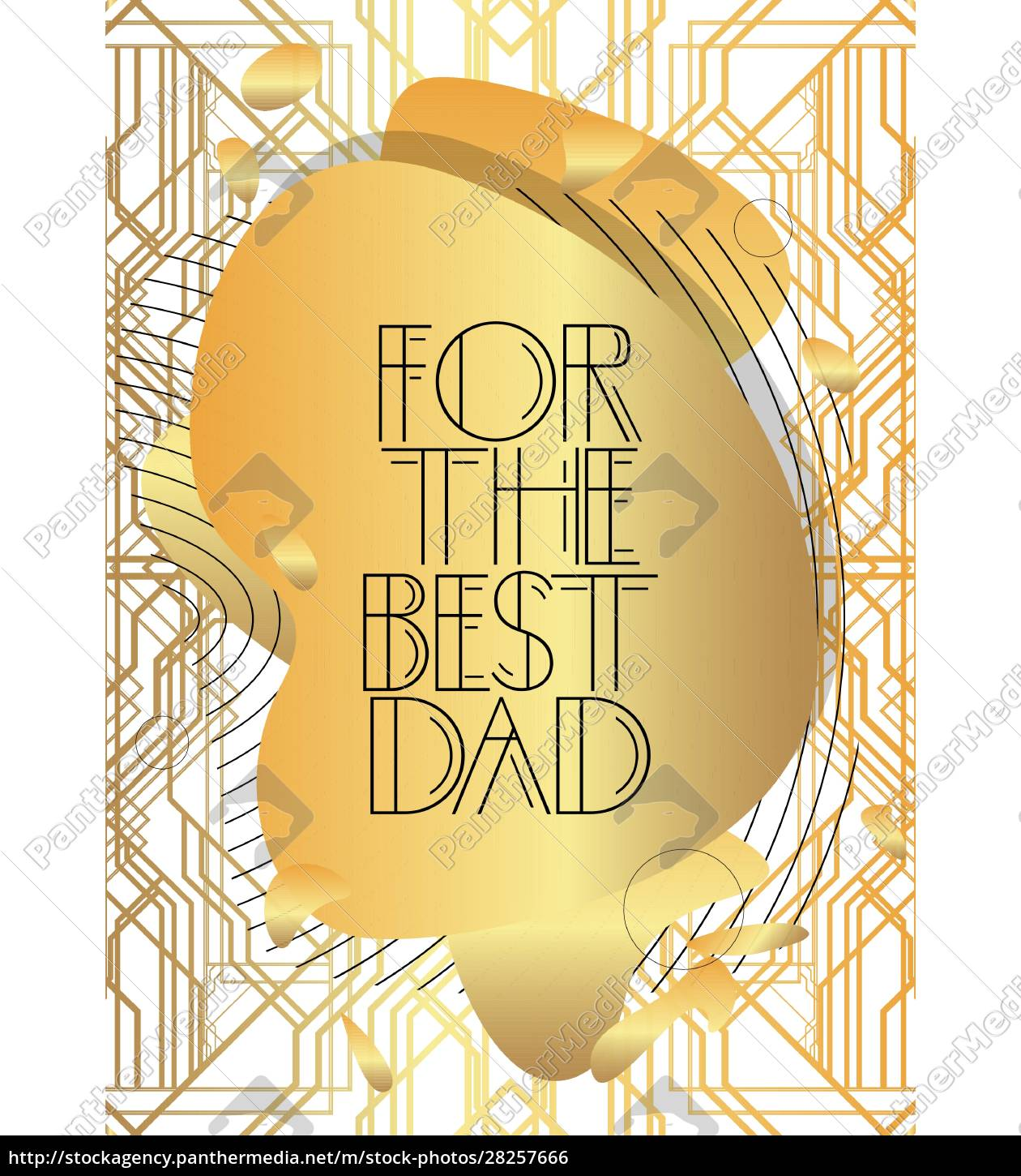 art, deco, for, the, best, dad - 28257666