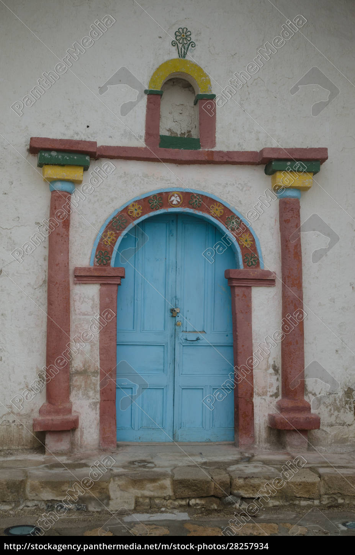 facade, of, the, parinacota, church, in - 28257934
