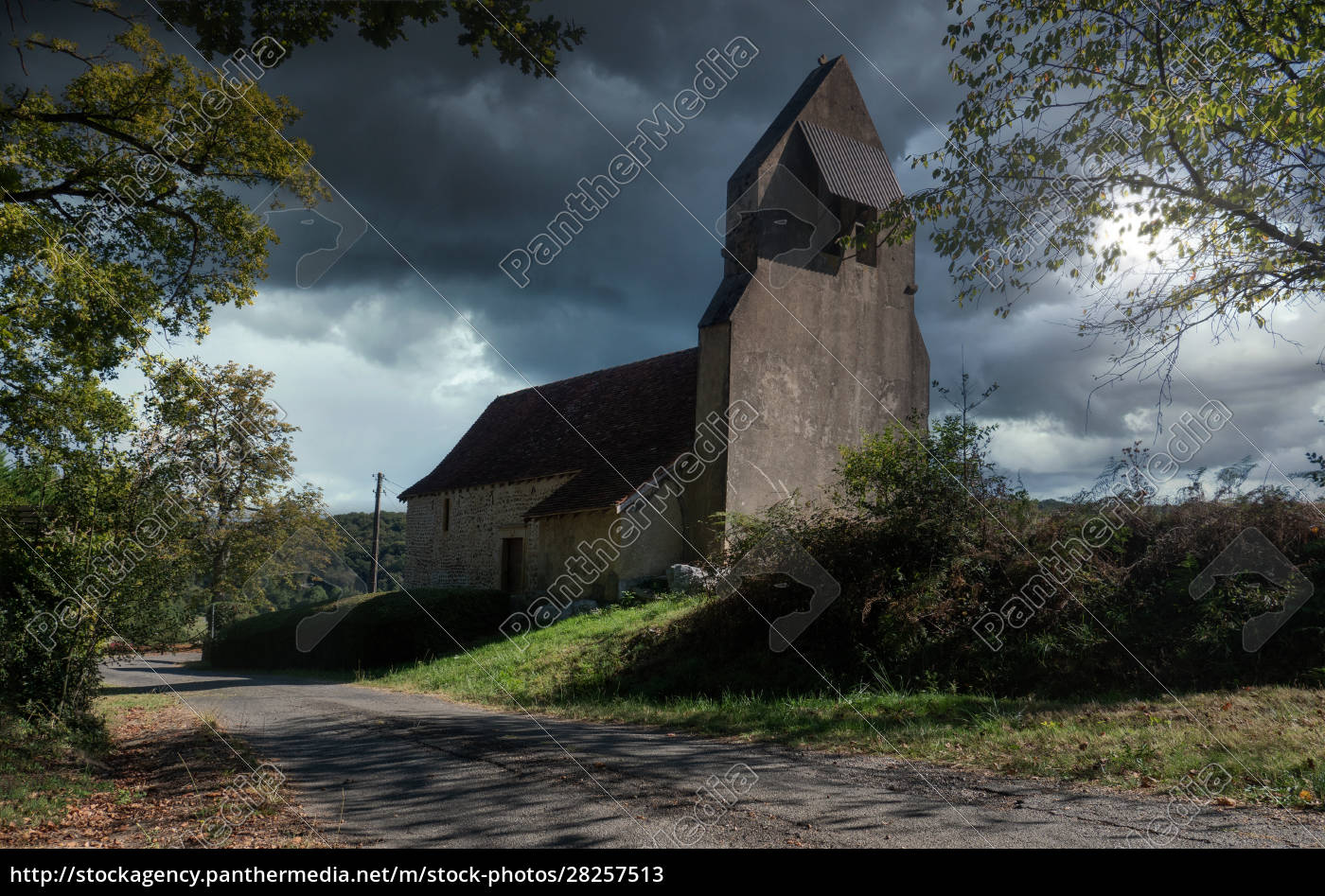 old, little, church, in, countryside, of - 28257513