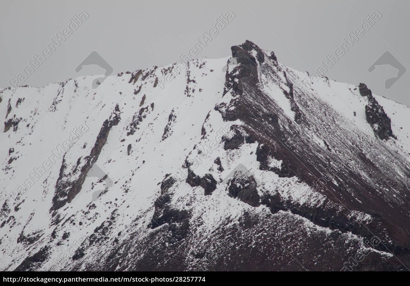 snowy, peak, in, the, lauca, national - 28257774