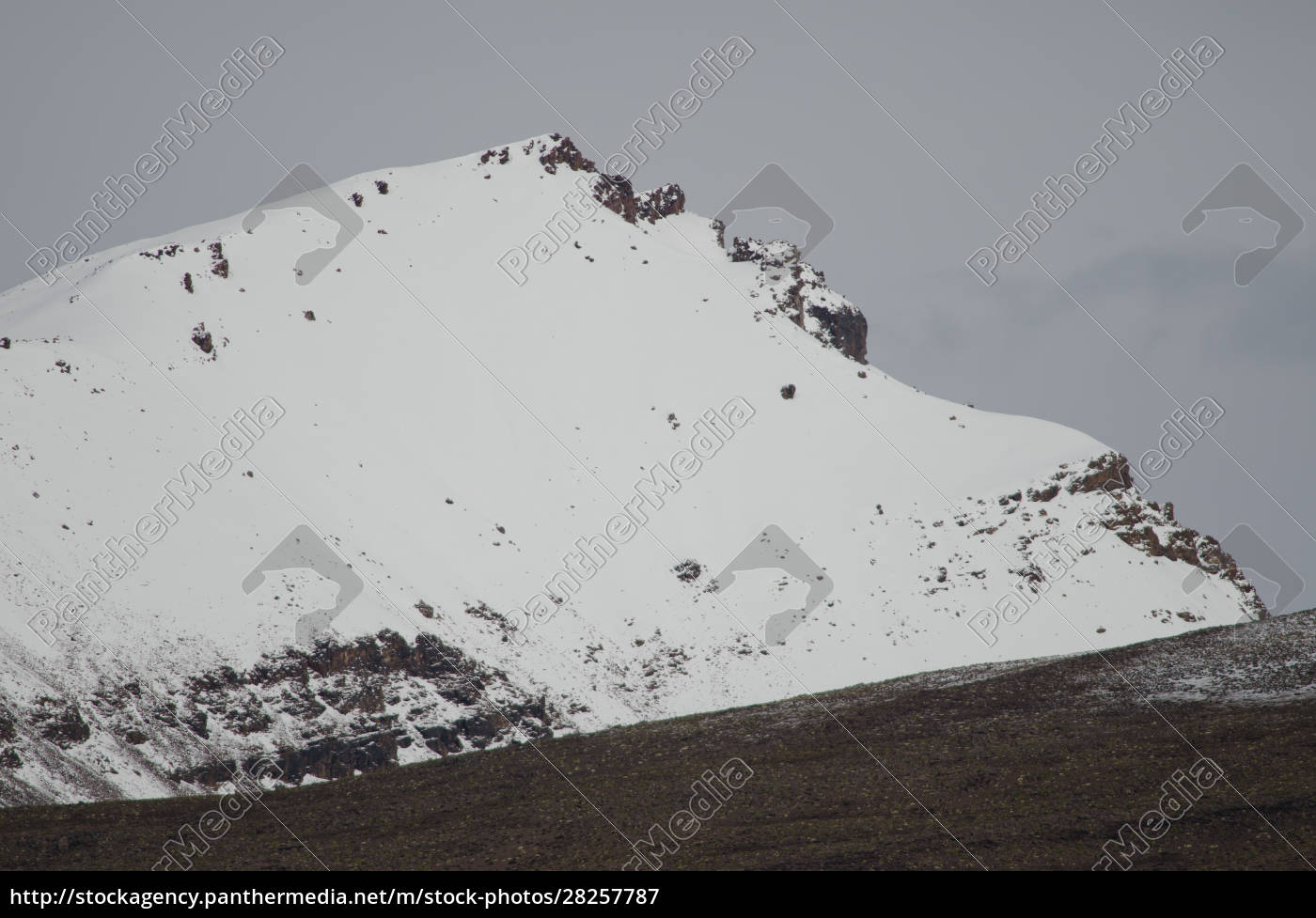 snowy, peak, in, the, lauca, national - 28257787