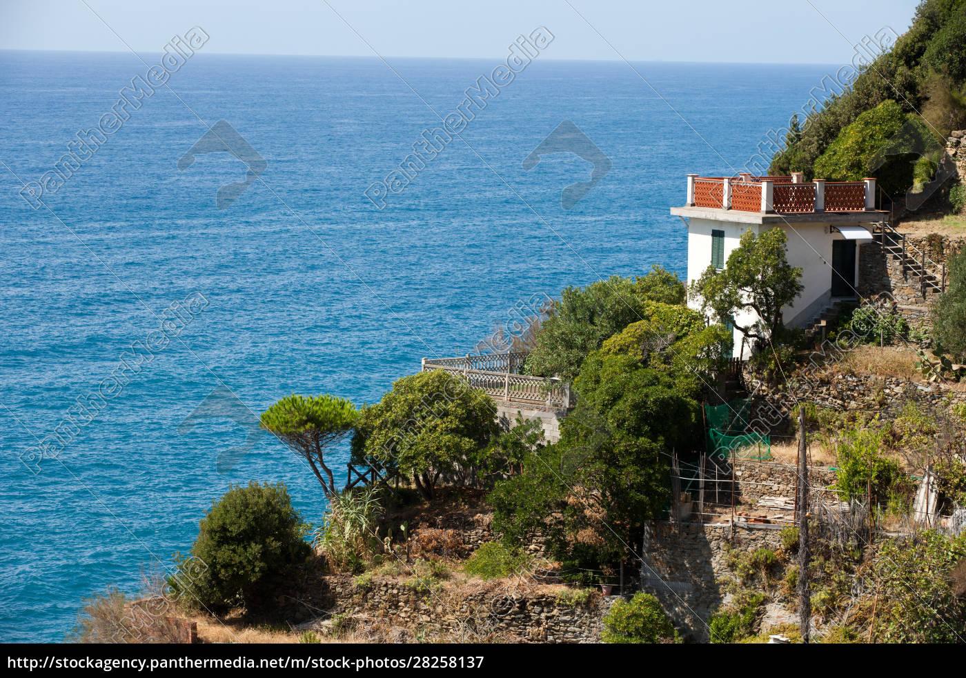 beautiful, coastline, in, cinque, terre, , liguria, - 28258137