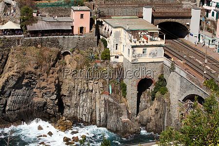 beautiful, coastline, in, cinque, terre, , liguria, - 28258183