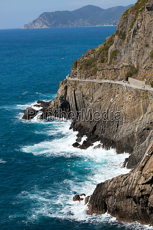 beautiful, coastline, in, cinque, terre, , liguria, - 28258184