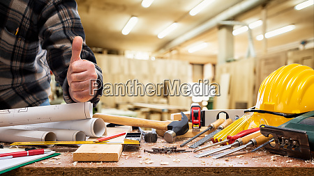 carpenter, at, work, in, the, carpentry - 28258730