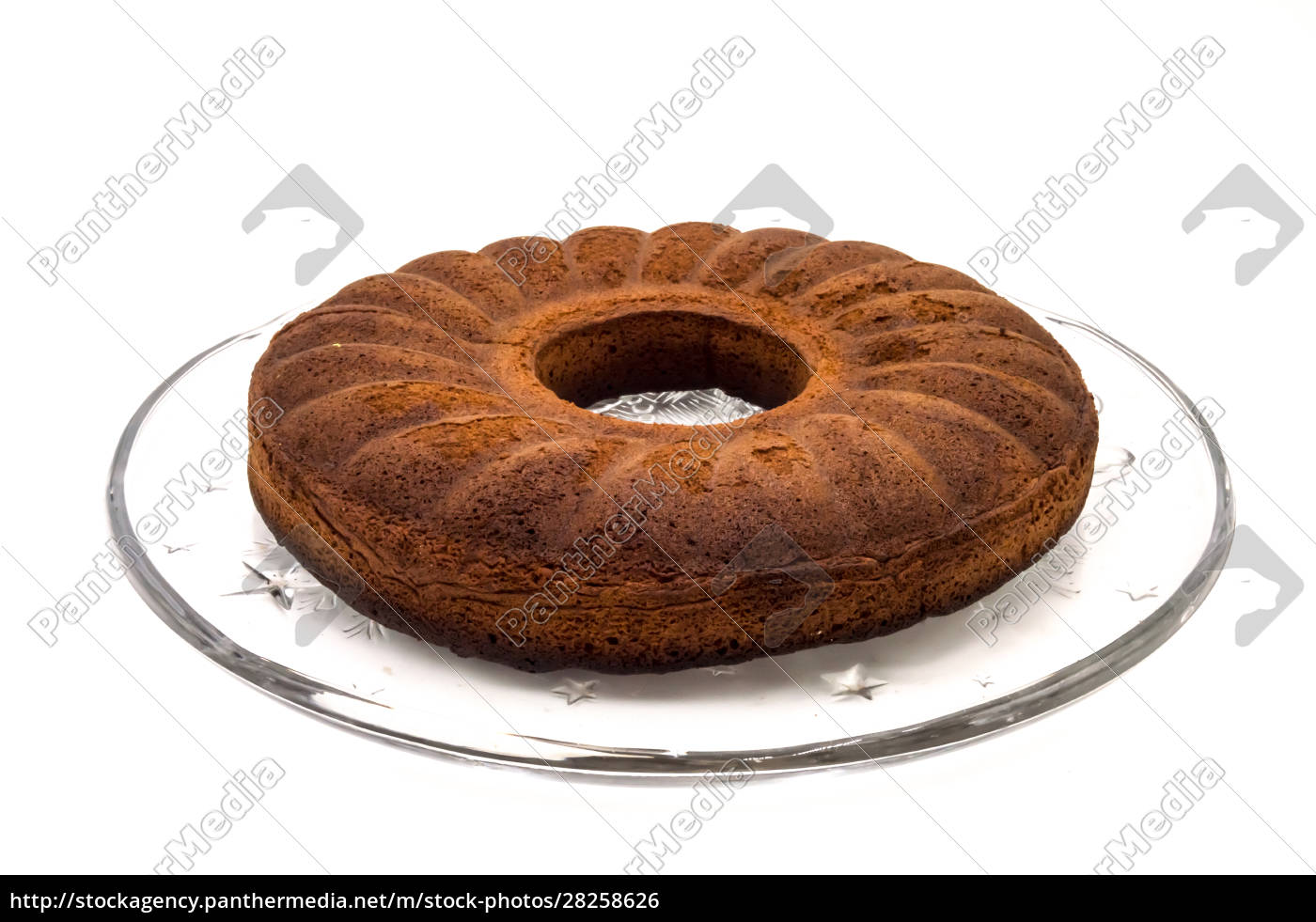 circular, marbled, cake, laying, on, a - 28258626