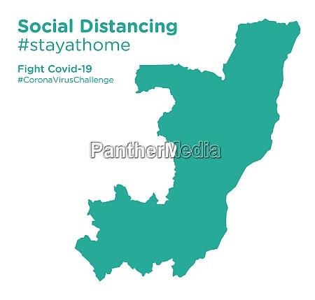 congo, republic, map, with, social, distancing - 28258821