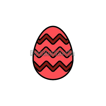 easter, egg., filled, color, icon., celebration - 28258443