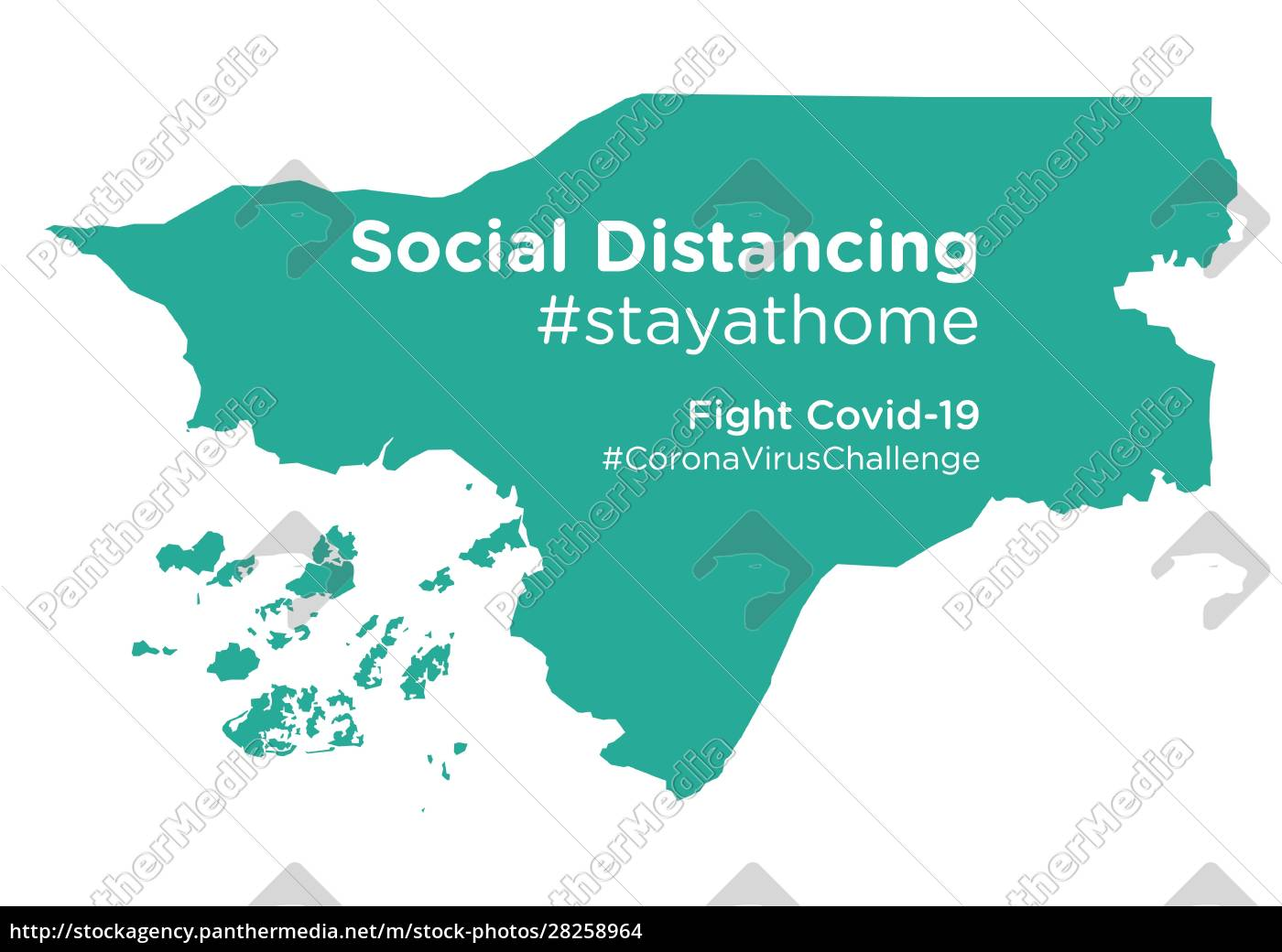 guinea-bissau, map, with, social, distancing, stayathome - 28258964