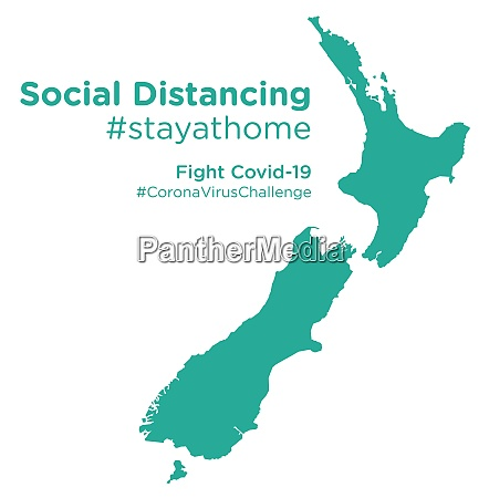 new, zealand, map, with, social, distancing - 28258809