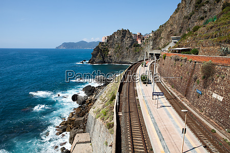 railway, station, of, manarola, in, cinque - 28258253