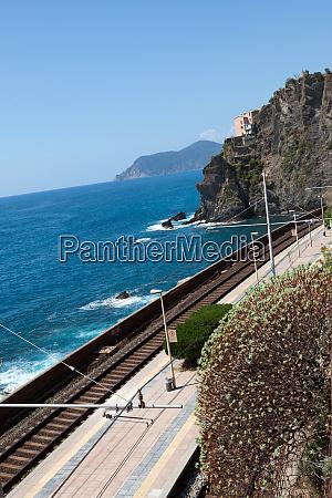 railway, station, of, manarola, in, cinque - 28258257