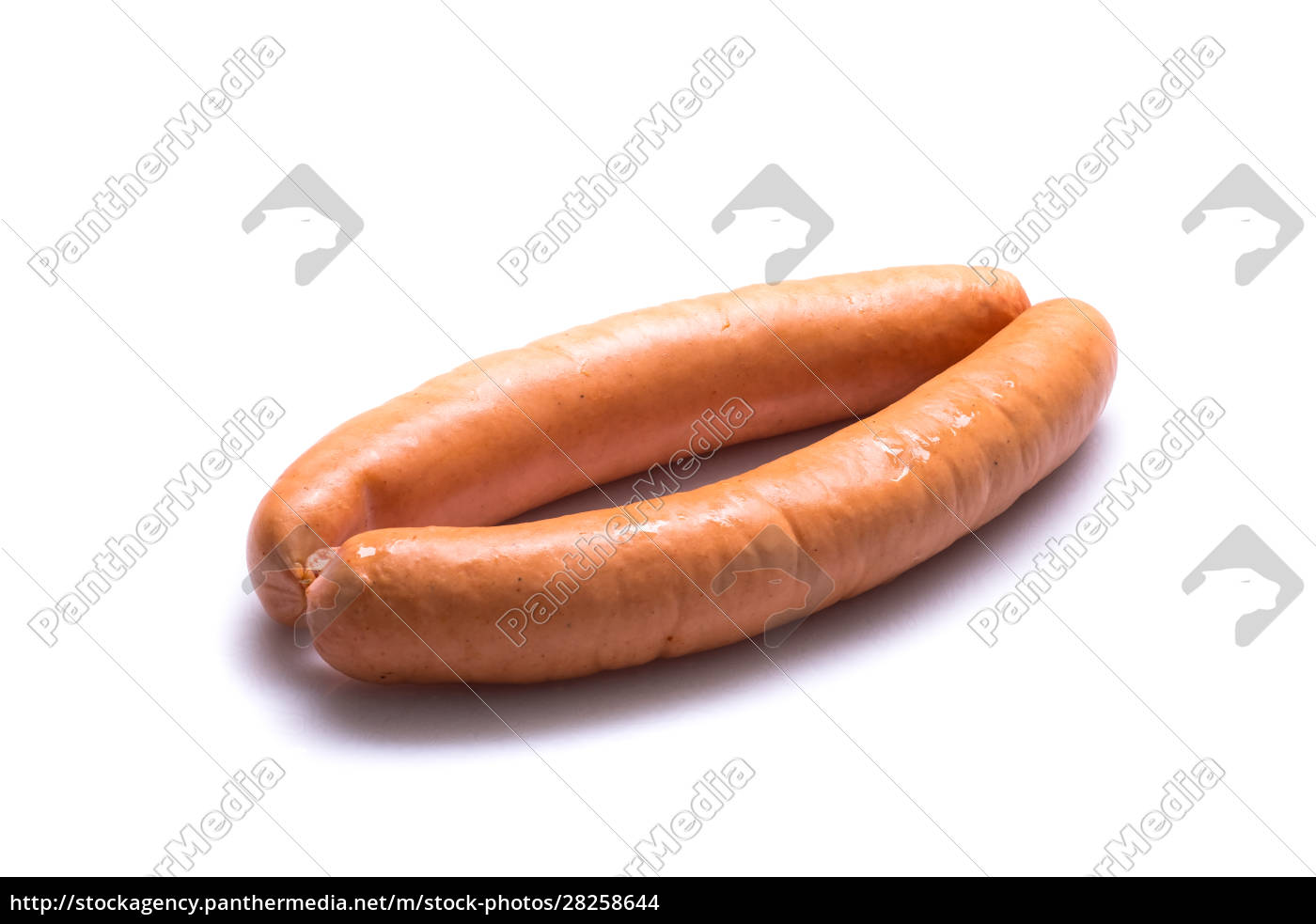 raw, sausages, white, isolated - 28258644