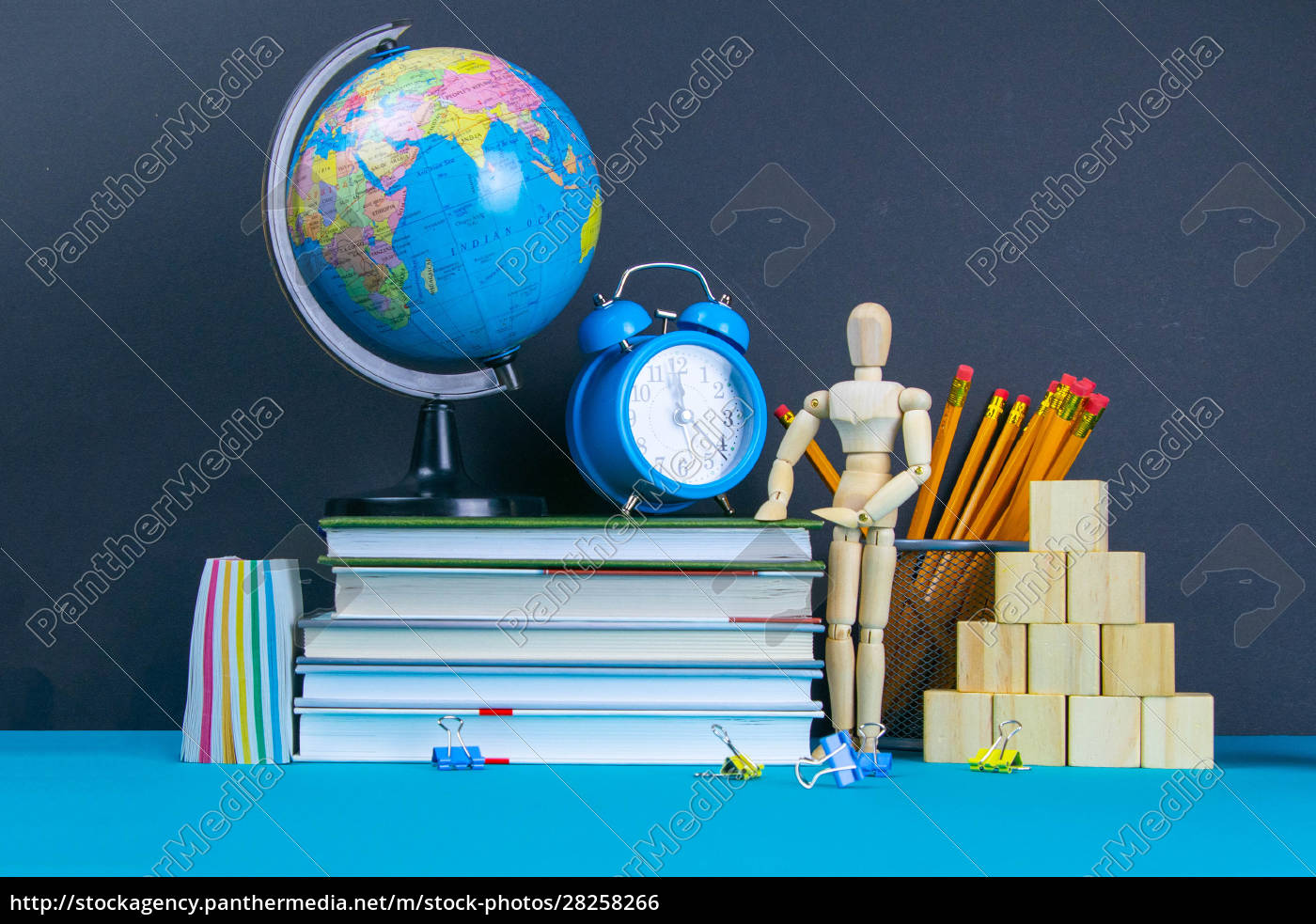 the, globe, and, the, clock, stand - 28258266