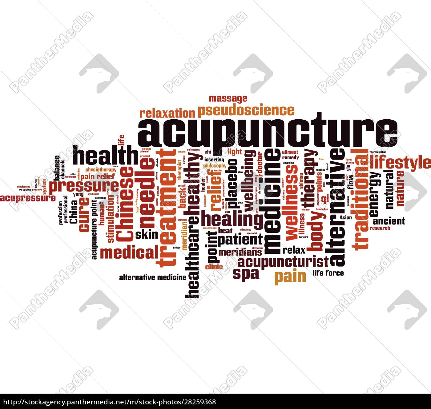 acupuncture, word, cloud - 28259368