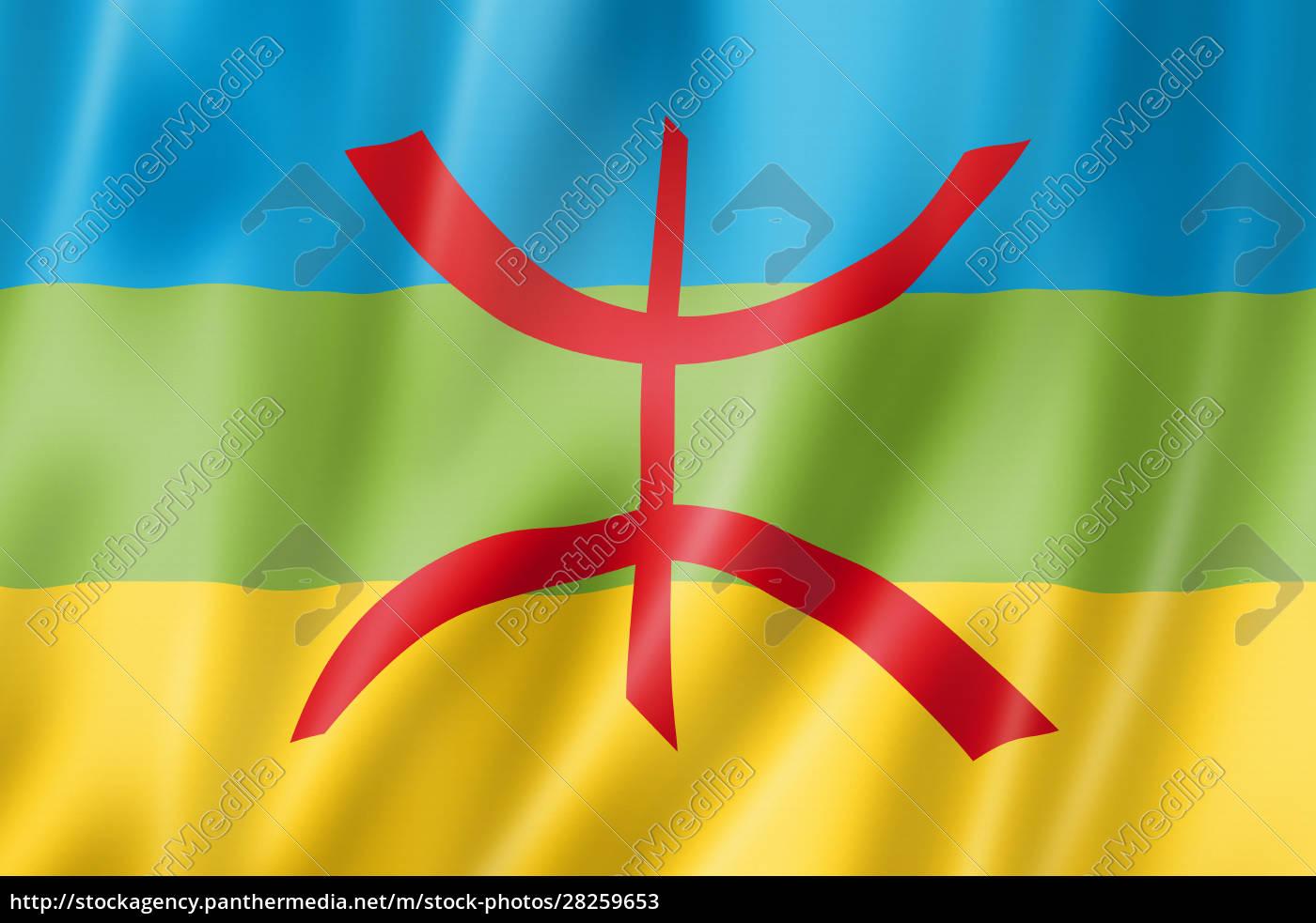 berber, ethnic, flag, , africa - 28259653