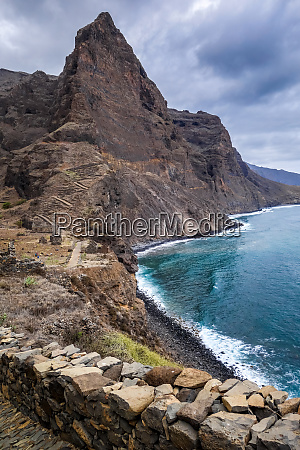cliffs, and, ocean, view, in, santo - 28259721