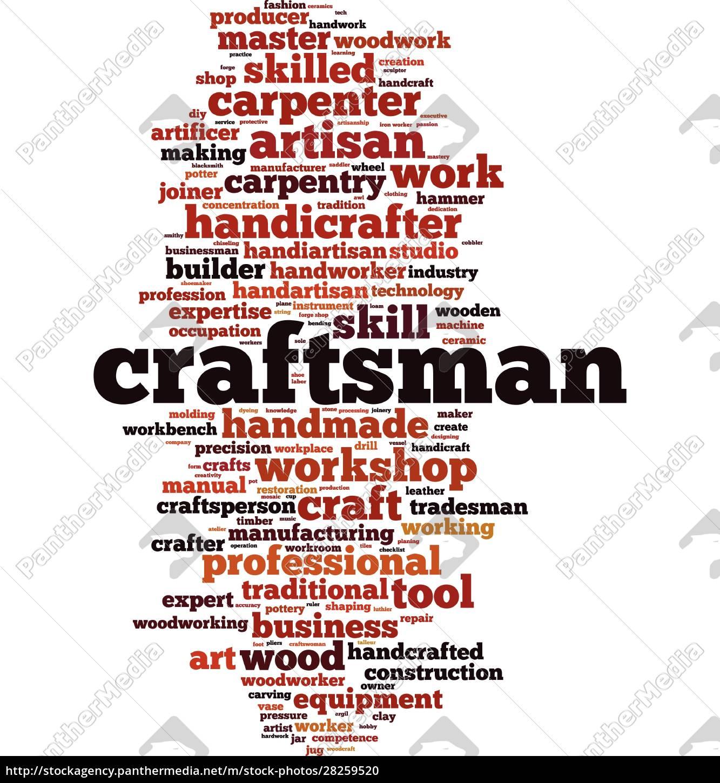craftsman, word, cloud - 28259520