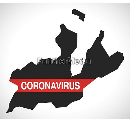 geneva, switzerland, canton, map, with, coronavirus - 28259376